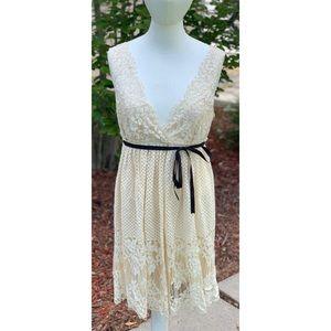 BCBG MaxAzria Ivory Lace Dress